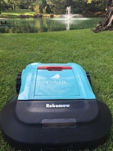 Robin Robomow robotic mower