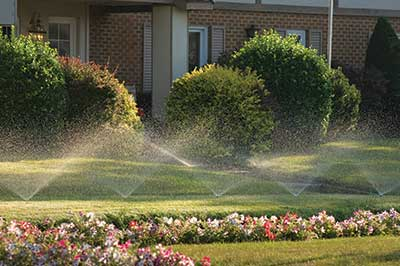home irrigation. (Photo: iStock.com/bradwieland)