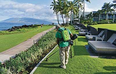 SGS Hawaii crew member