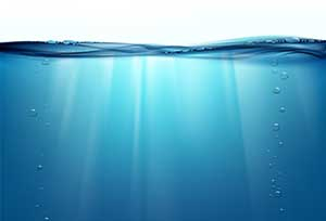 A blue ocean. Image: iStock.com/Trifonenko