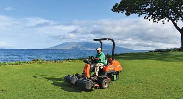 battery powered equipment. photo: SGS Hawaii