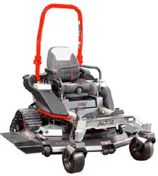 TRX 561 zero-turn mower