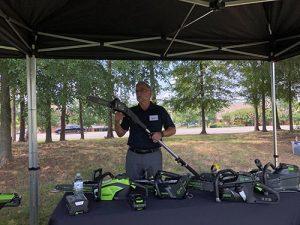 Greenworks unveils Lithium Z zero-turn mowers, demos
