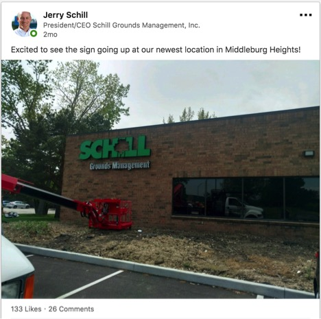 Jerry Schill LinkedIn post