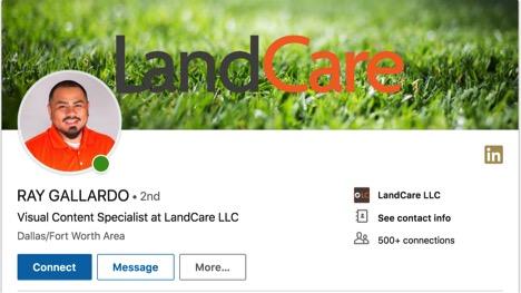 Ray Gallardo LinkedIn page