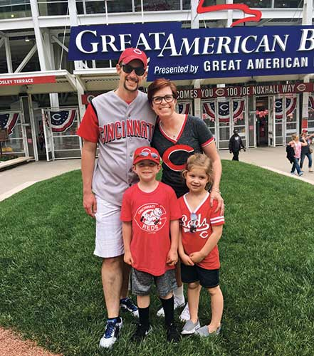 Luke Henry and family; Photo: Luke Henry