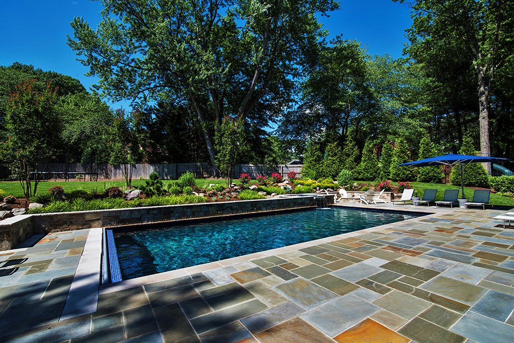 Bethesda Family Resort pool deck and yard (Photo: Hilary Schwab)