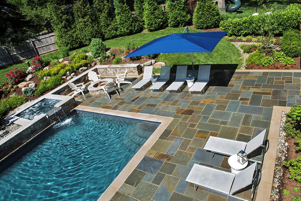 Betheda Family Resort pool deck (Photo: Hilary Schwab)