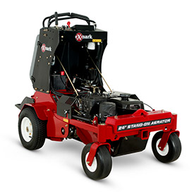 Exmark 24-in. Stand-On Aerator; Photo: Exmark Manufacturing