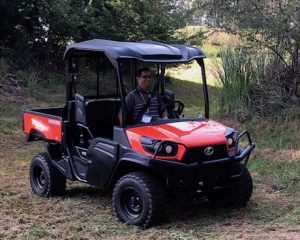 Kubota RTV-XG850 utility vehicle