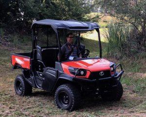 Kubota RTV-XG850 utility vehicle