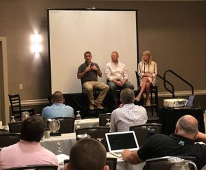 The Best Practices for Success panel at ProfitLion's Seeds for Success 2018. Photo: LM staff)
