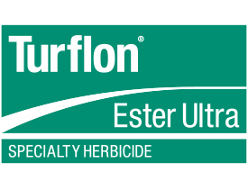 Turflon Ester Ultra. Logo provided by Dow AgroSciences.