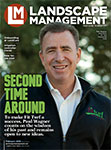Landscape Management February 2018 cover. Photo by Timothy Devine, timothydevine.com