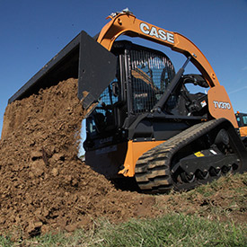 TV370 Compact Truck Loader. (Photo: CASE Construction Equipment)
