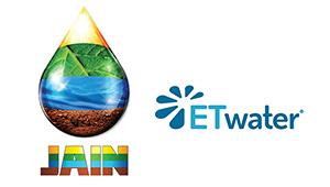 Jain Irrigation & ETwater logos