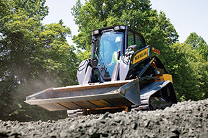 C245 Super Boom compact track loader (Photo: New Holland)