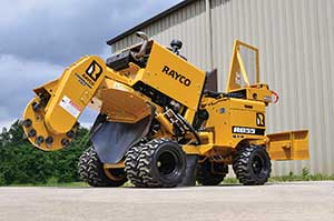 Rayco RG55 stump cutter (Photo: Rayco)
