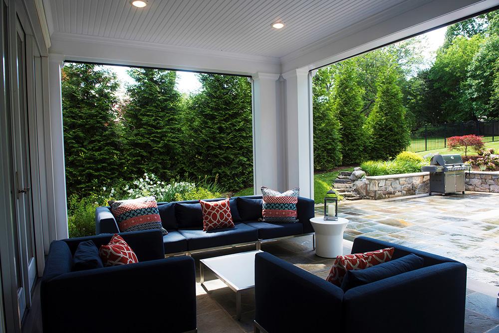 Backyard sunroom (Photo: Hilary Schwab)