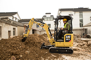 Next Generation mini hydraulic excavators (Photo: Caterpillar)