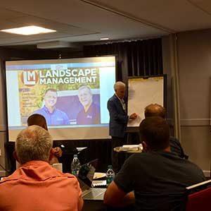 Jeffrey Scott at Destination Company event (Photo: LM Staff)