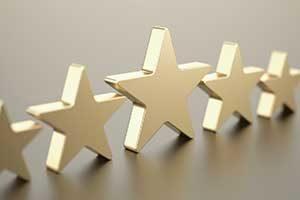 Five stars (Photo: iStock.com/D3Damon)