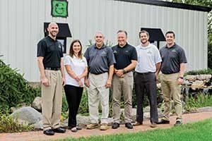 Grunder Landscaping Co. leadership team (Photo: Matthew Allen)
