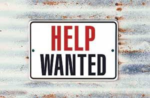 Help wanted sign (Photo: iStock.com/MCCAIG)