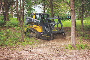 Mulching head (Photo: John Deere)