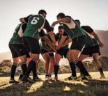 Rugby huddle (Photo: iStock.com/jacoblund)