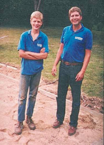 Aaron Katerberg and his father, Will Katerberg (Photo: Grapids Irrigation)