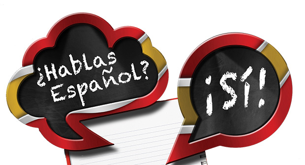 Speaking Spanish graphic (illustration: iStock.com/Alberto Masnovo)