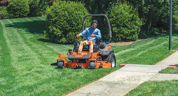 Husqvarna ride-on mower (Photo: Husqvarna)