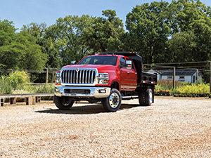 CV Series, landscape application (Photo: International Truck)