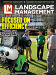 Landscape Management January 2019 cover. Photo: LM staff