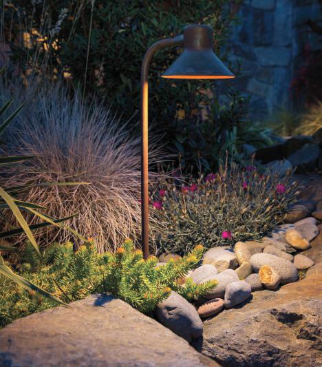 Path light fixture (Photo: FX Luminaire)