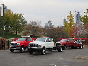 Navistar trucks (Photo: Navistar)