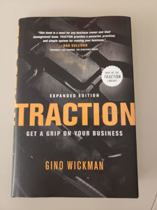 Traction book cover. Photo: LM staff