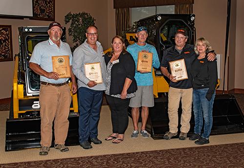 ASV Dealer Award winners | Photo: ASV