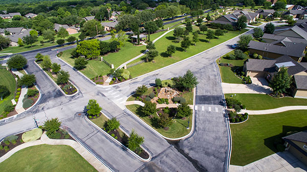 Retirement housing at Blue Skies of Texas (Photo: Clean Scapes)