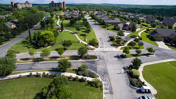 Shot of Blue Skies of Texas community (Photo: Clean Scapes)