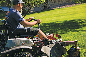 Exmark mower (Photo: Sun Valley Landscaping)