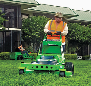 Mean Green mower (Photo: Mean Green Mowers)