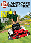 Landscape Management February 2019 cover. Photo: Exmark