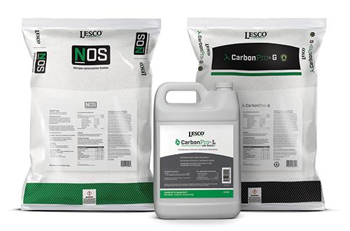LESCO NOS, LESCO CarbonPRO-L and LESCO CarbonPro-G | Photo: SiteOne Landscape Supply