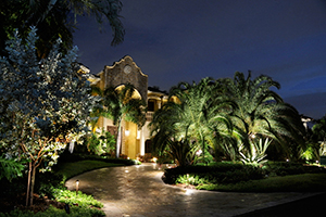 Photo: Vista Professional Outdoor Lighting
