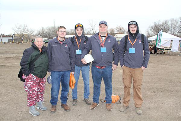 Ohio State University team at NCLC (Photo: Seth Jones)