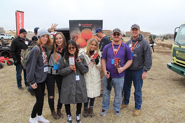 Kansas State University team at NCLC (Photo: Seth Jones)
