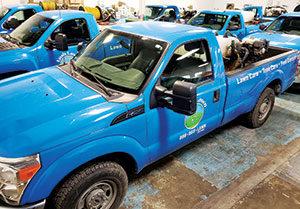 Lush lawn truck (Photo: Lush Lawn)