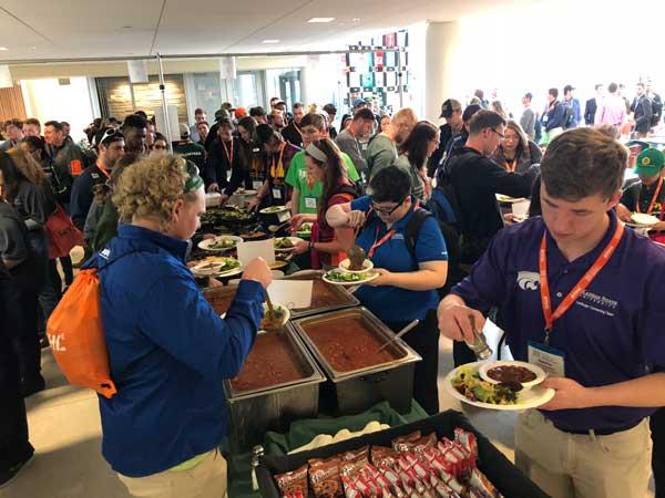 NCLC_Lunch (Photo: Seth Jones)